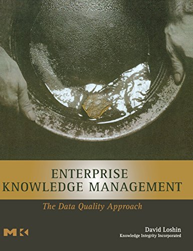 Enterprise Knowledge Management: The Data Quality Approach (The Morgan Kaufmann Series in Data Management Systems) by Morgan Kaufmann