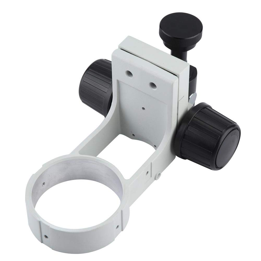 Stereo Microscope Camera Bracket Focusing Bracket with Tail 76mm Diameter by Wal front