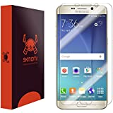Skinomi TechSkin - Samsung Galaxy S6 Edge+ Screen Protector Premium HD Clear Film with Free Lifetime Replacement Warranty / Ultra High Definition Invisible and Anti-Bubble Crystal Shield