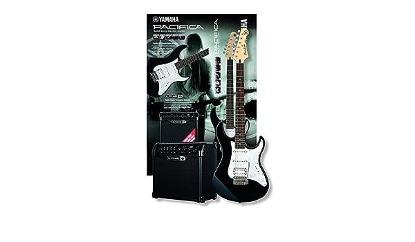 Yamaha GP Spider Pack II - Pack de guitarra y amplificador, color negro: Amazon.es: Instrumentos musicales