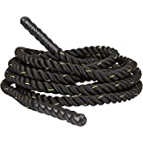 Trademark Innovations Battle Rope Strength and Core Training, 1.5
