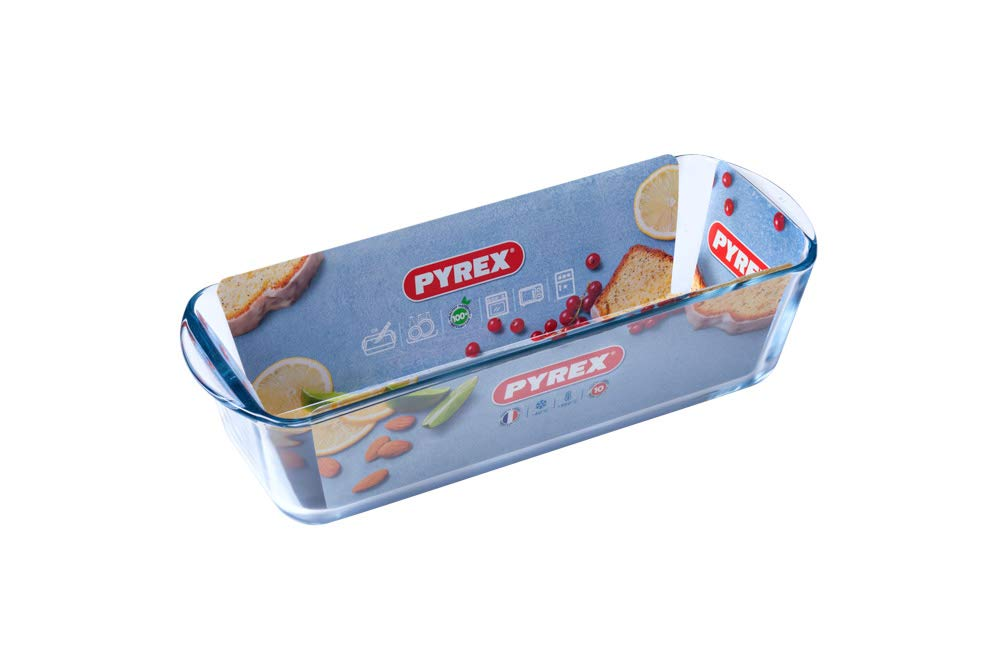 Pyrex Classic - Molde plum-cake, 31 x 12 cm, 1.7L: Amazon.es: Hogar