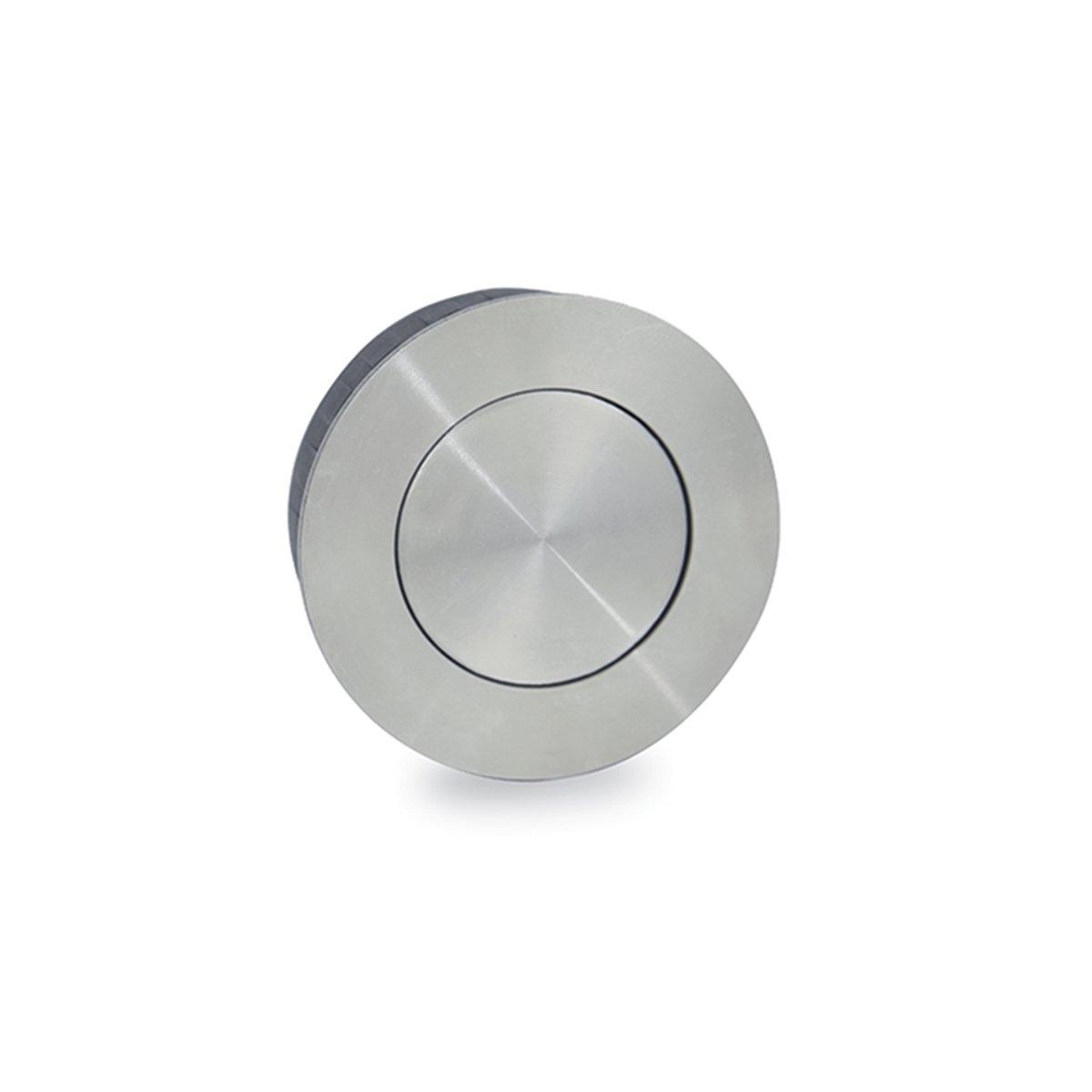 Jako WFH110X50 Round Flush Pull - Stainless Steel, Diameter 2''
