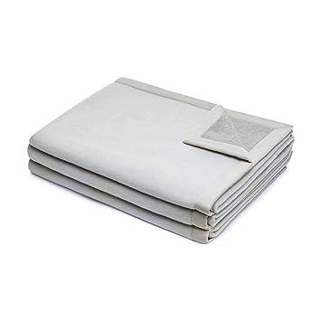 LANEROSSI Manta Muebles de Cama de Matrimonio Maxi Dos 2 plazas 220 X 270 con Cubierta Doble Cara 100% Lana Merino: Amazon.es: Hogar