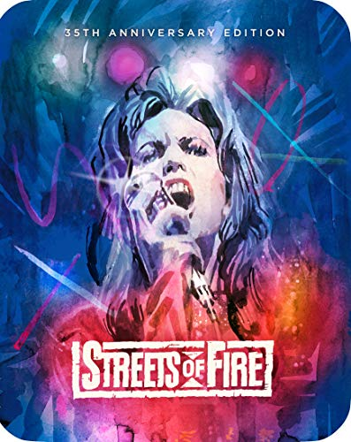 Streets Of Fire (35th Anniversary Steelbook) [Blu-ray]