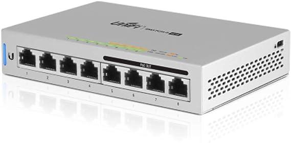 Unifi Switch 8 Us 8 60w Managed Gigabit Switch 60 W Computers Accessories