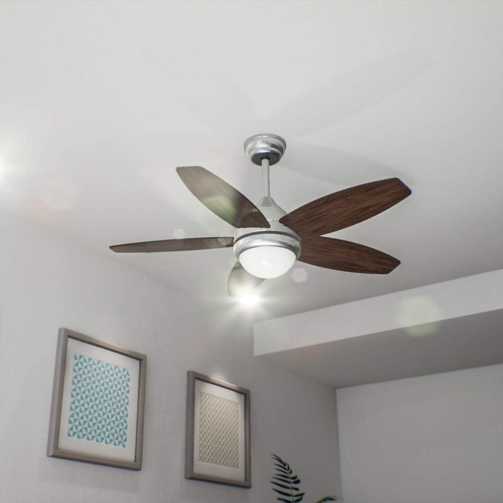 Cecotec EnergySilence Aero 490 Ventilador de techo. 5 aspas. 42 ...