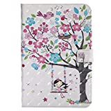 iPad Mini 4 Case,[ Shock Absorbent ] Leather Cases PU Leather Kickstand Wallet Cover Durable Flip Case for iPad Mini 4 Girl