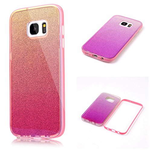 AIIYG DS(TM) Samsung Galaxy S7 Edge, G9350 Gradient Color Mirror