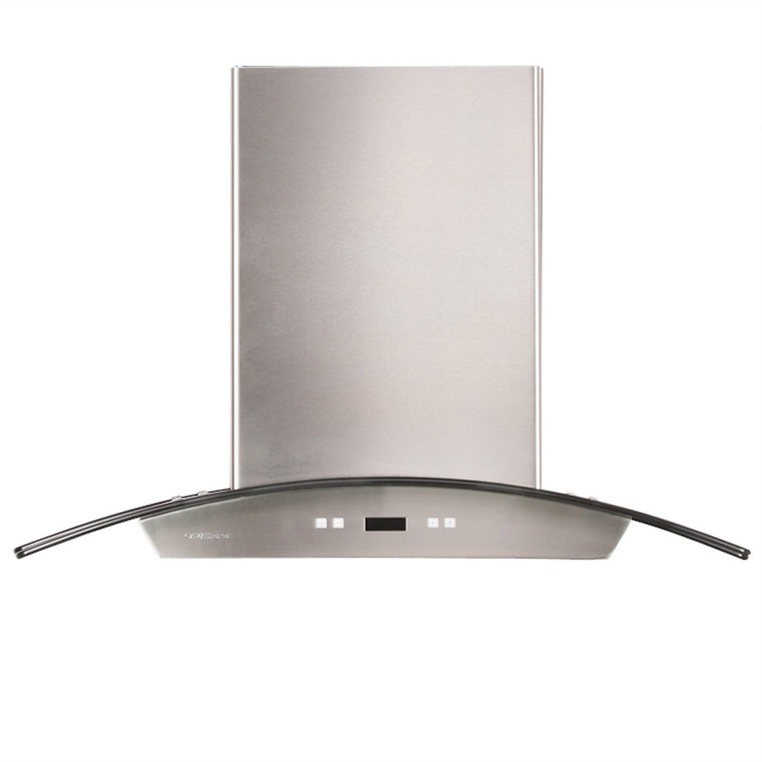 CAVALIERE 36'' Wall Mounted Stainless Steel / Glass Kitchen Range Hood 900 CFM SV218D-36 by CAVALIERE