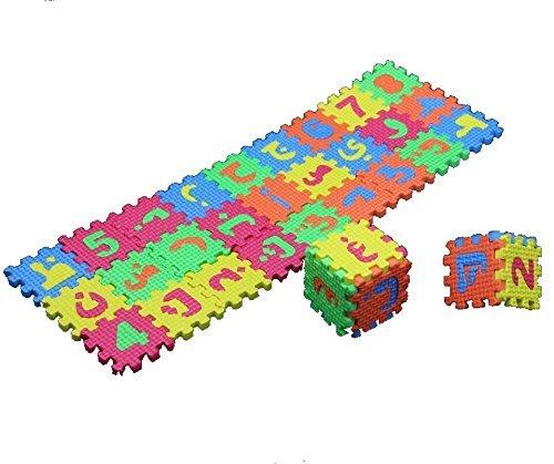 36 Pcs Arabic Puzzles Blocks Small size