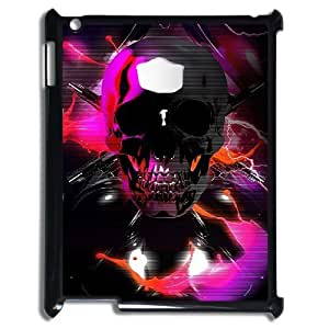 Custom Cover Case with Hard Shell Protection for Ipad2,3,4 case with Fashion Element The Skeleton Skull lxa865057