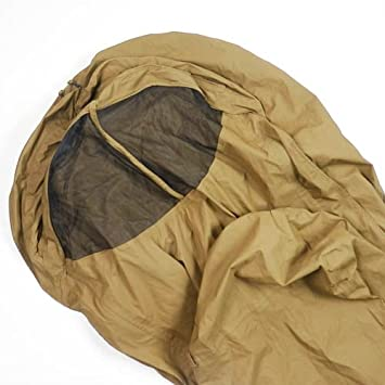 Amazon Com Military Usmc Improved 3 Season Bivy Cover Coyote Brown Sleeping Bag Cover Modular Sleep System Sports Outdoors
