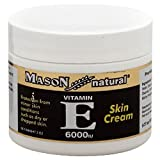 Cheap Mason Vitamins E 6000 IU Cream, 2 Ounce, for Protection from Minor Skin Conditions Such as Dry or Chapped Skin, Deep-Moisturizing Cream, Use as Moisturizer Make-Up Base or Night Cream