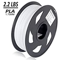Dikale PLA 3D Printer Filament - 1KG 1.75mm, Dimensional Accuracy + or - 0.03 mm, 1KG Spool 1.75 mm from dikale