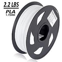 Dikale PLA 3D Printer Filament - 1KG 1.75mm, Dimensional Accuracy + or - 0.03 mm, 1KG Spool 1.75 mm from dikale