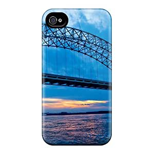 New Premium Favorcase Bridges At Dusk Skin Cases Covers Excellent Fitted For Iphone 6plus