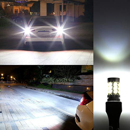 906 LED Bulb,Morefulls 1600lms 360-Degree Shine 912 921 LED Bulb 6000k For Backup Reverse Lights Lamp,Extremely Bright Also Fit 902 904 W16W T15 LED Bulbs Xenon White