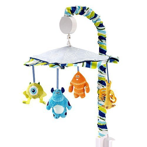 monster baby mobile - 2