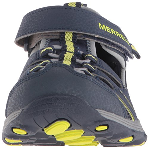 Navy Chaussures Merrell Multisport Mixte Enfant Ml Hiker lime Outdoor H2o b 41aqSz