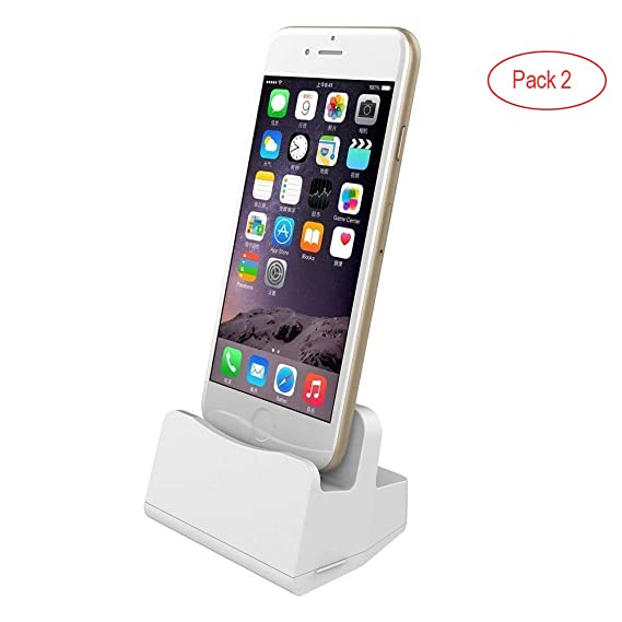 Astonishing Charging Stand For Iphone Simple Desk Charger Dock Station With Charging Cable For Apple Iphone X 10 8 8Plus 7 7Plus 6 6Plus 6S 6S Plus 5 Se Ipad Download Free Architecture Designs Meptaeticmadebymaigaardcom