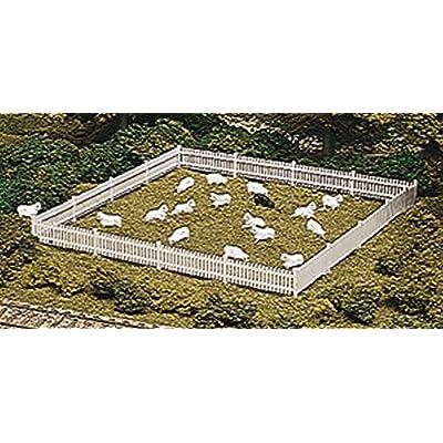 ATLAS MODEL 776 Picket Fence & Gate Kit HO: Toys & Games