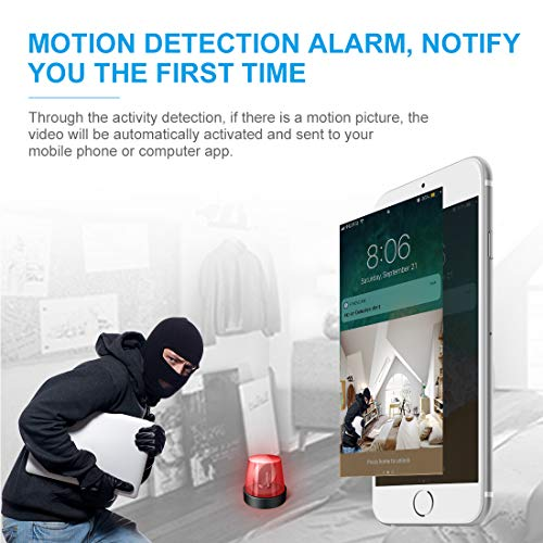[New APP] AOBO Mini Spy Camera Wireless Hidden Home WiFi Security Cameras with App 1080P Night Vision Motion Activated Indoor Outdoor Small Nanny Cam for Car Live Streaming with iPhone/Android Phone