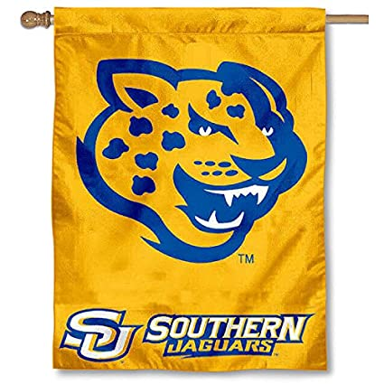 Southern University Jaguars House Flag
