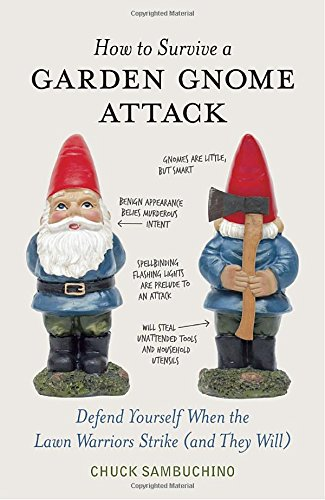 Image result for how to survive a garden gnome attack