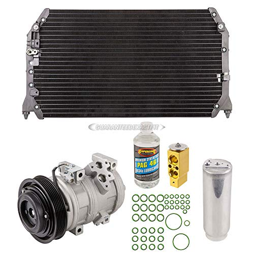 (A/C Kit w/AC Compressor Condenser & Drier For Lexus ES300 1999 2000 2001 - BuyAutoParts 60-89642CK)