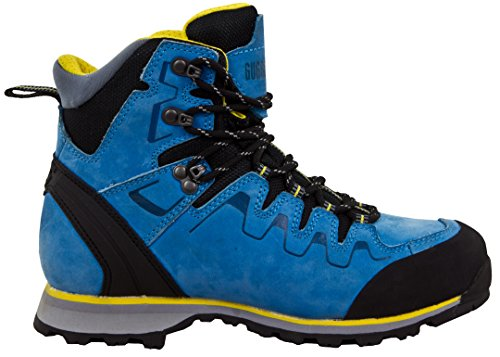 Impermeables Azul Trekking Y para Mujer Senderismo De De GUGGEN PM025Botas Trekking Mountain amarillo De Zapatos Botas Y Cuero Exterior Membrana con Txnwtw6HYq