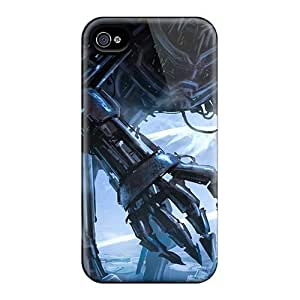 Durable Defender Cases For Iphone 6 Plus Tpu Covers(huge Robot Monster)