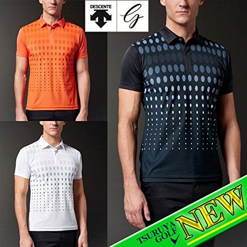 DESCENTE(デサント) 半袖ポロシャツ DGMLJA24 オレンジ Lサイズ