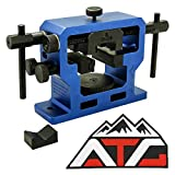 ATG Patch and NcSTAR Heavy Duty Universal Pistol Dovetailed Front & Rear Sight Pusher Tool (Front & Rear Sight Tool)