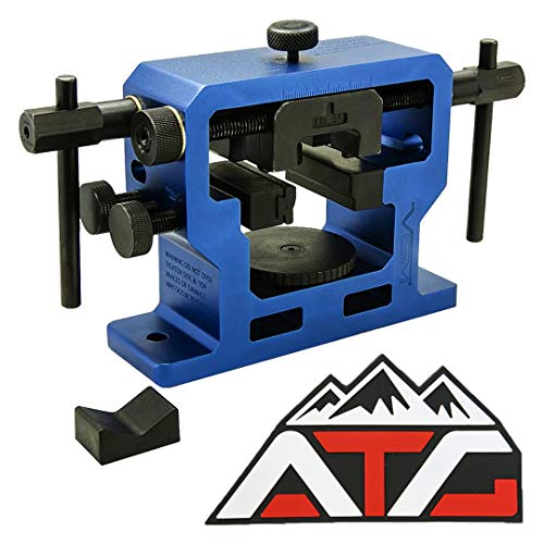 ATG Patch and NcSTAR Heavy Duty Universal Pistol Dovetailed Front & Rear Sight Pusher Tool (Front & Rear Sight Tool) (Best Sight Pusher Tool)