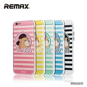 Oso de la historieta Remax Resistente a la ca'da de Shell Protecci-n de nuevo caso duro para el iPhone 6plus 6S Plus 5.5