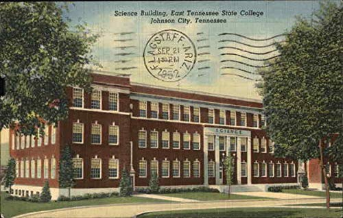 Science Building, East Tennessee State College Johnson City Original Vintage Postcard from CardCow Vintage Postcards