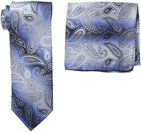 Stacy Adams Men's Microfiber Pasiley Print Tie Set