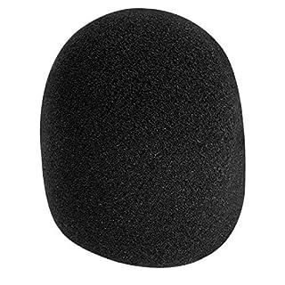 On-Stage Foam Ball-Type Microphone Windscreen, Black
