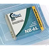 NB-6L Battery Replacement (1000mah, 3.7v, Li-ion) for Canon Digital Camera - Compatible with Canon S120, Canon PowerShot S120, Canon PowerShot SX510 HS, Canon S95, Canon PowerShot SX500 IS