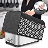 Yarwo 4 Slice Toaster Cover with Pockets and Top