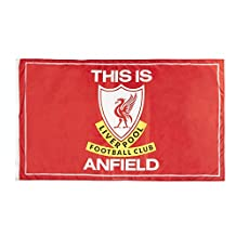 Official Liverpool FC This Is Anfield Flag 152cm x91cm