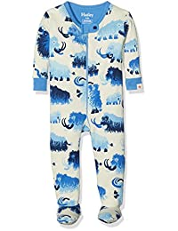 Hatley Mini Footed Coverall - Woolly Mammoth