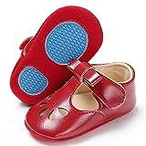 TIMATEGO Baby Girl Mary Jane Flats Shoes Non Slip