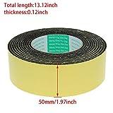 Othmro Sealing Foam Tape 50mm Wide 3mm Thick