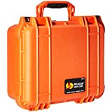 Pelican 1400 Camera Case With Foam (Orange)