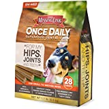The Missing Link - Once Daily All Natural Omega Dental Chew - Hips, Joints & Teeth - SMALL/MED Dog - 28 day supply