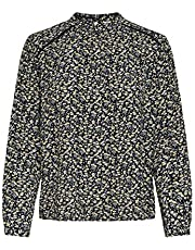 ONLY dames top ONLNEW MALLORY L/S BLOUSE AOP WVN NOOS