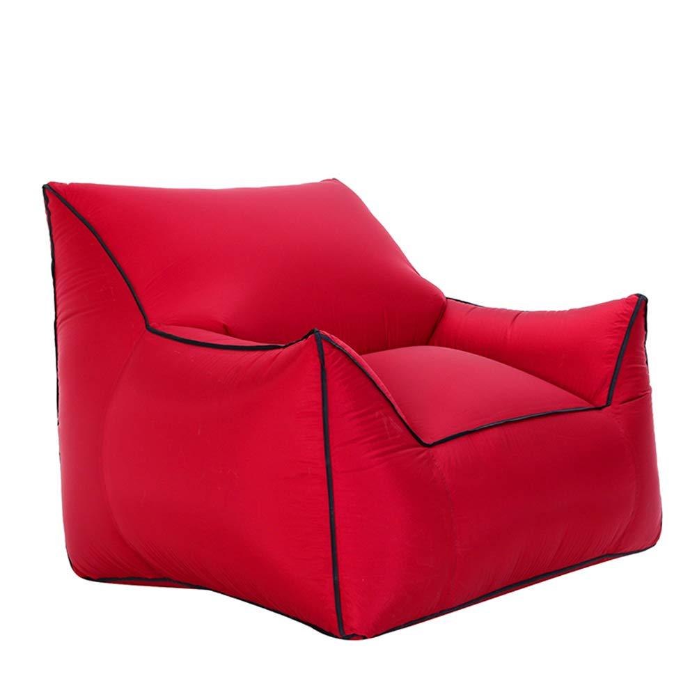 BAIVIN Air Sofa Schnell Aufblasbare Einzelsitz Feuchtigkeitsfest Bodenmatte Wasser Aufblasbare Faule Sofa Outdoor Tragbare Haus