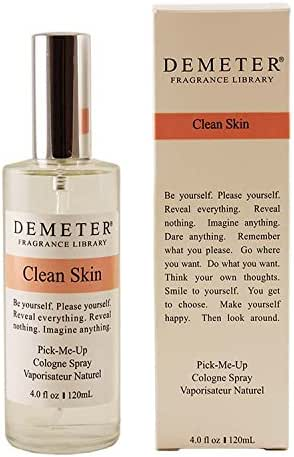 Demeter Clean Skin Cologne Spray for Unisex, 4 Ounce